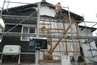 外壁の撤去